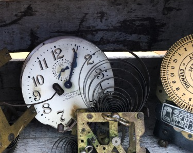 Vintage Clock And Parts