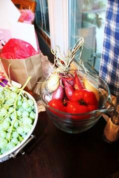 Vegetables In Measuring Cup