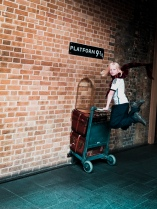 Platform 9 3/4, King;s Cross Station, London, England